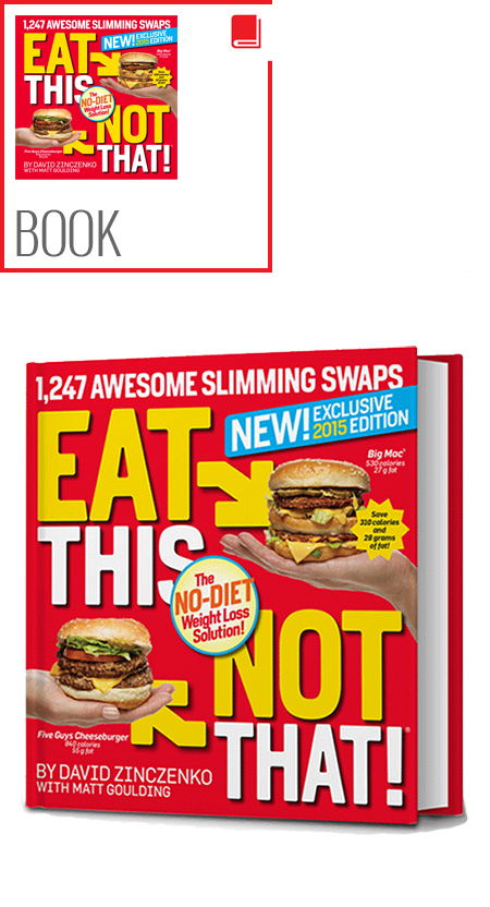 Eat This Not That 2 book set 2010-2011
